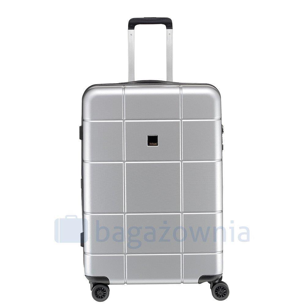 7c48c4317a61 ... Duża walizka TITAN BACKSTAGE 805404-56 Szara ...