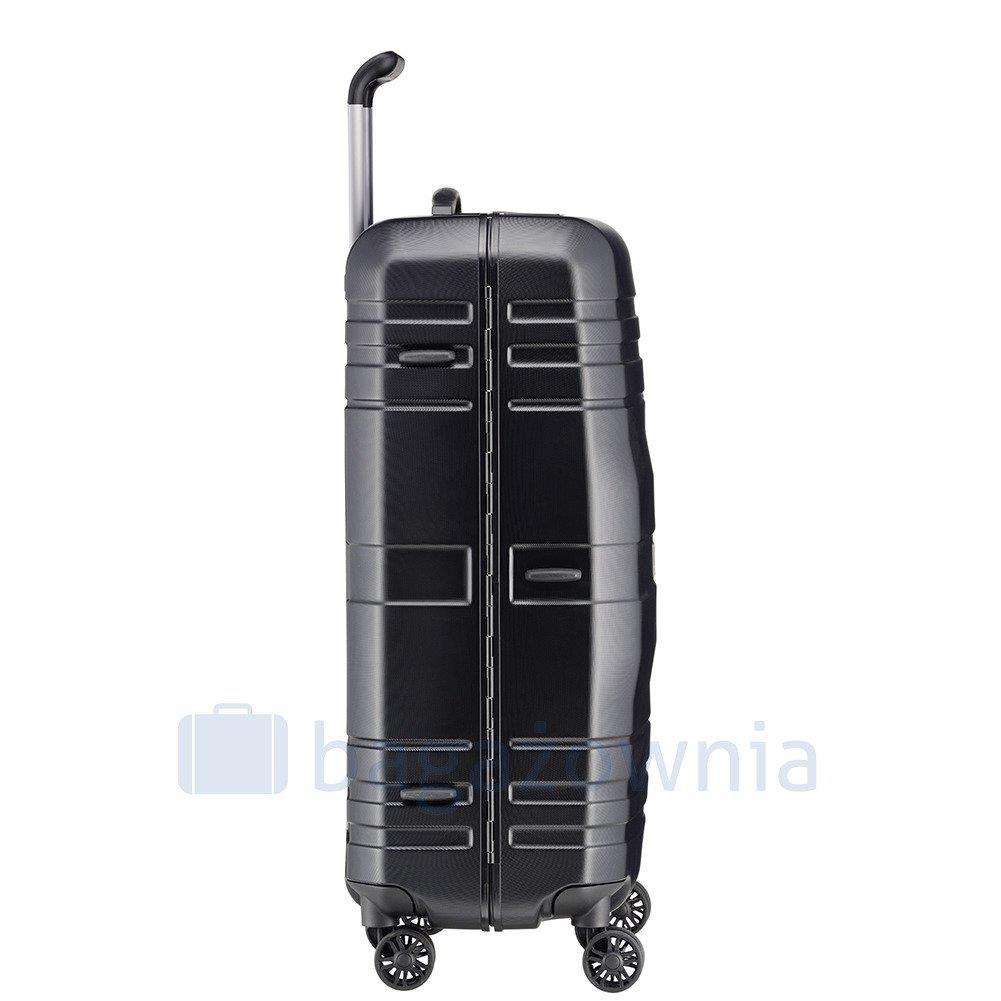 a5417f7f2865 Duża walizka TITAN PRIOR 700504-01 Czarna ...
