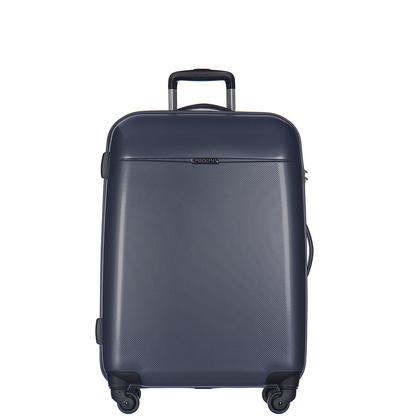 97a4b605d08de Średnia walizka PUCCINI VOYAGER PC005B 7B Ciemnoniebieska, BAGAŻ ...