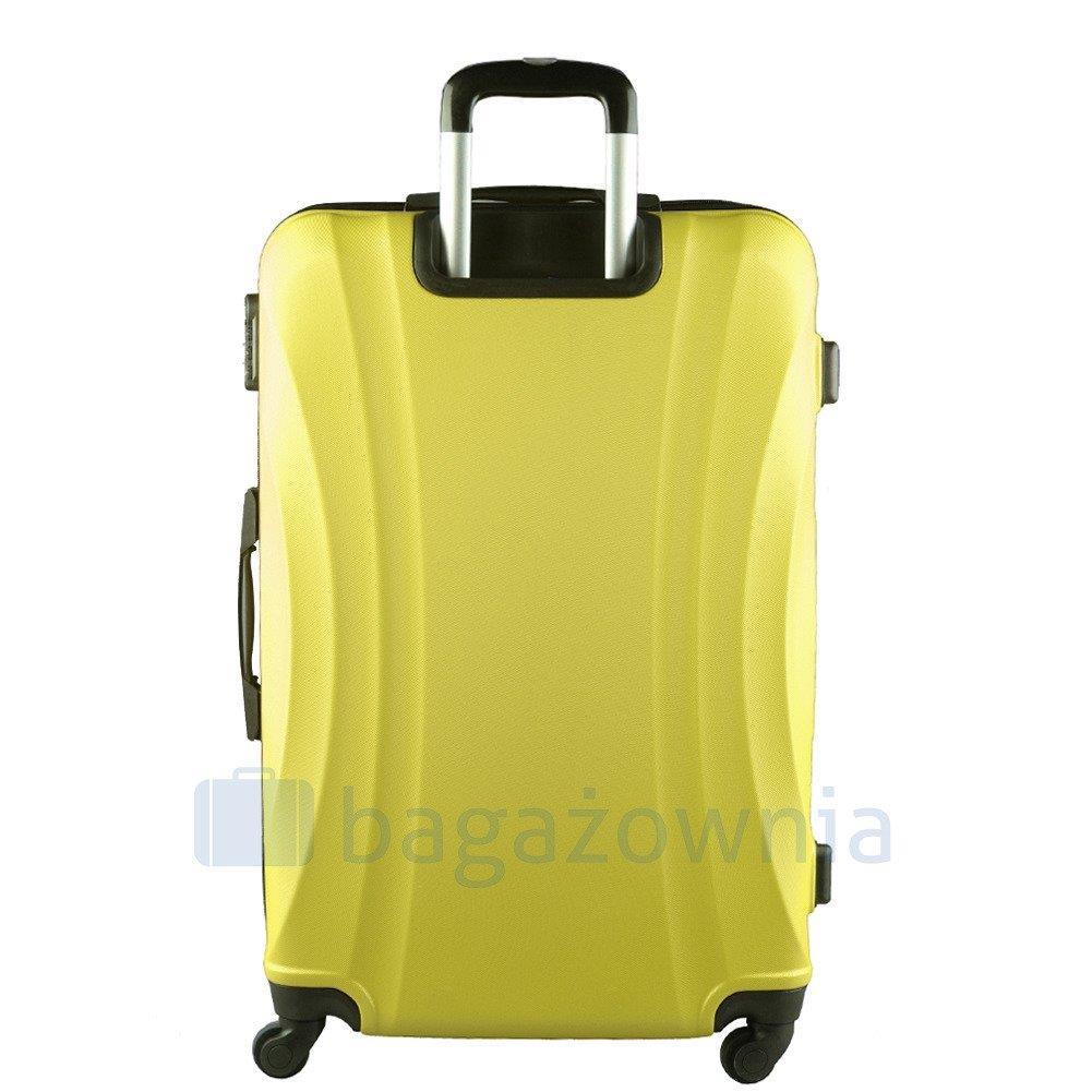 07d92fe03f48b Zestaw 4 walizek KEMER 159 Żółte, BAGAŻ PODRÓŻNY Walizki twarde ...